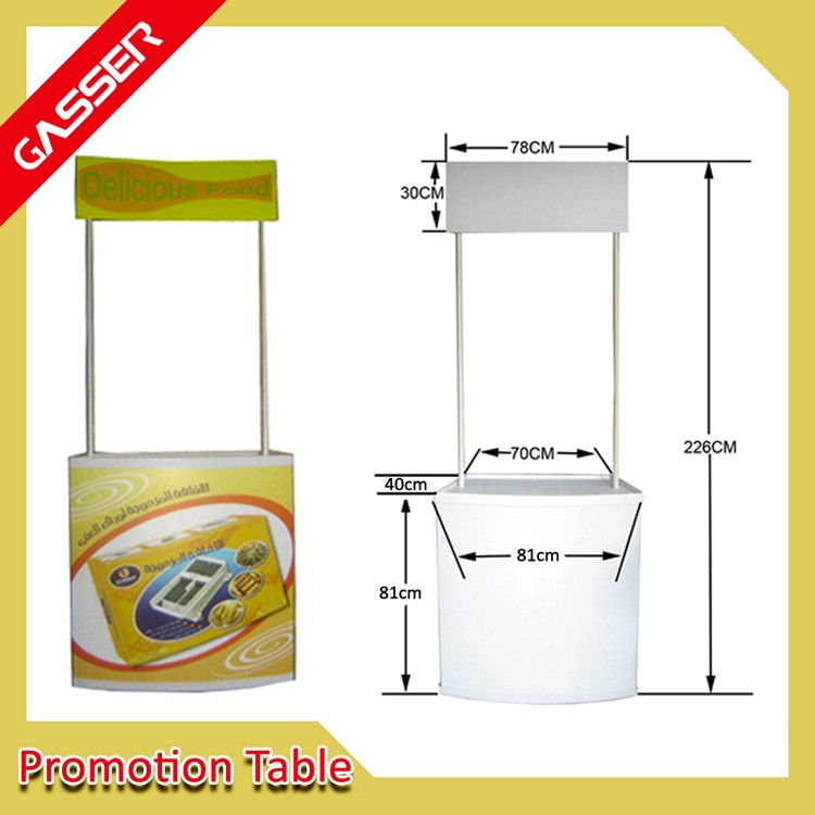 Easy Carry And Durable Promotion Event Desk For Advertising