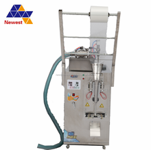 Automatic Sachet Bag Liquid Filling and Packing Machine Price cost