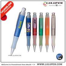 Customized Big Guy Grip Pen Promotional Plastic Retractable Pens (Lu-8011)