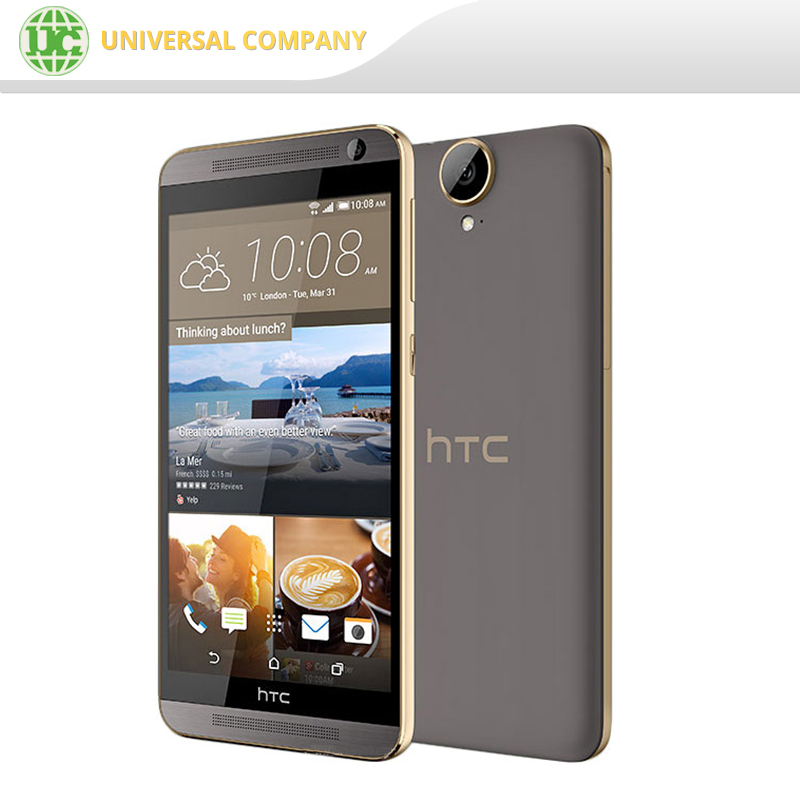 Original HTC One E9+ 4G LTE Cell Phone Android 5.0 Octa Core 5.5'' 20MP Camera a smart phone