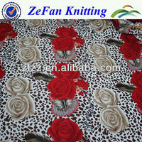 Full print coral fleece fabric for blanket