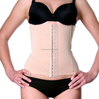 hot sale women plus size waist trainer corset chincher steel bone waist cincher