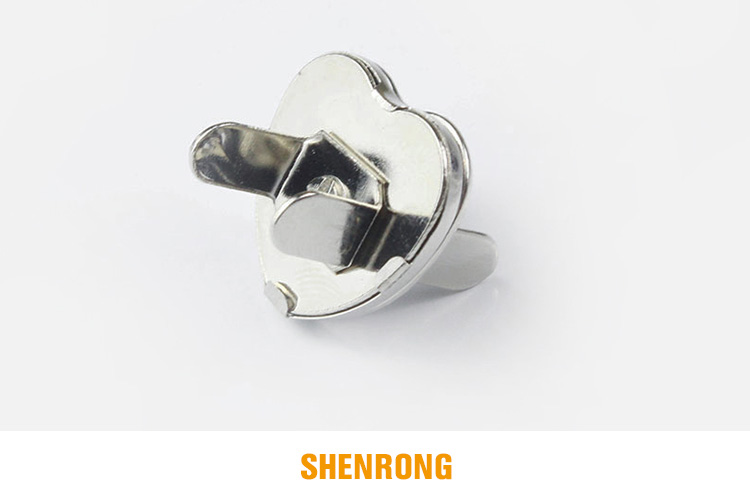 Heart shape 10mm magnetic button snap button