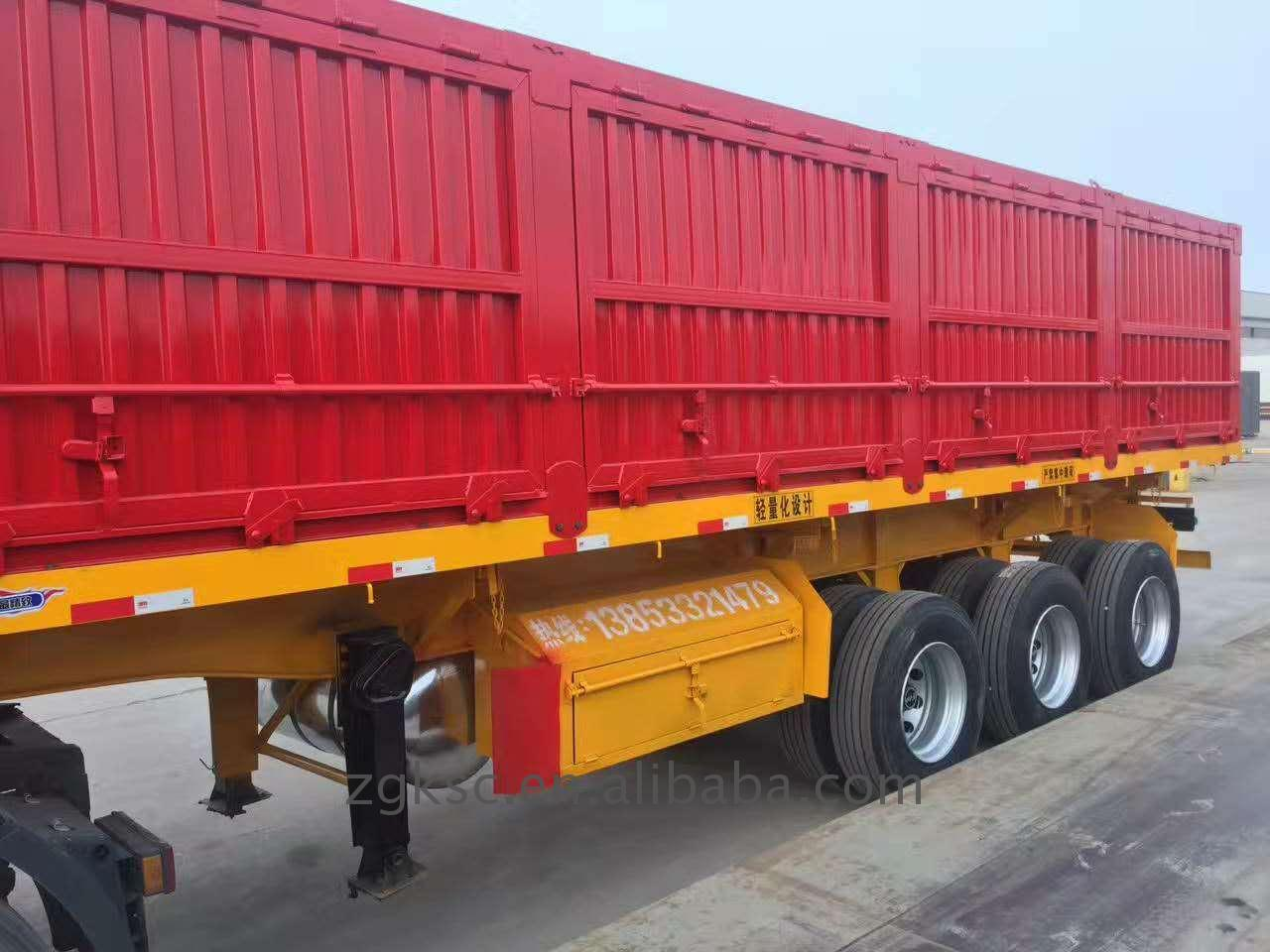 high density dump trailer 16 t t935/2 of ISO9001 Standard
