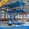 3T 3.4M hydraulic scissor car self lift stacker with CE