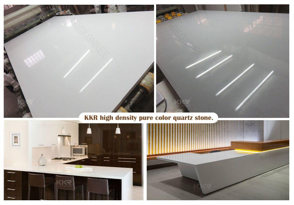 High hardness artificial quartz stone kitchen countertops/worktop