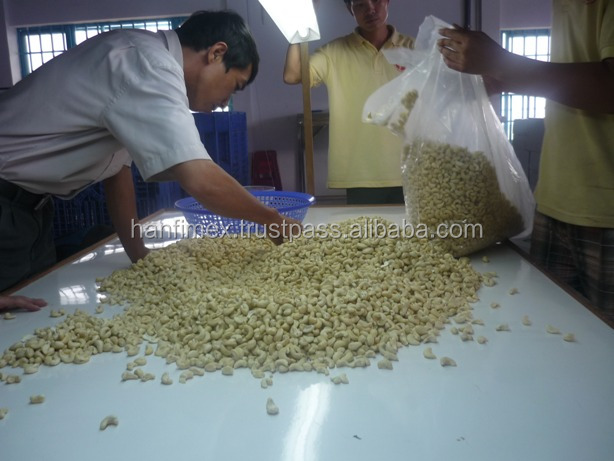 cashew nut, cashew kennel certificated for HACCP