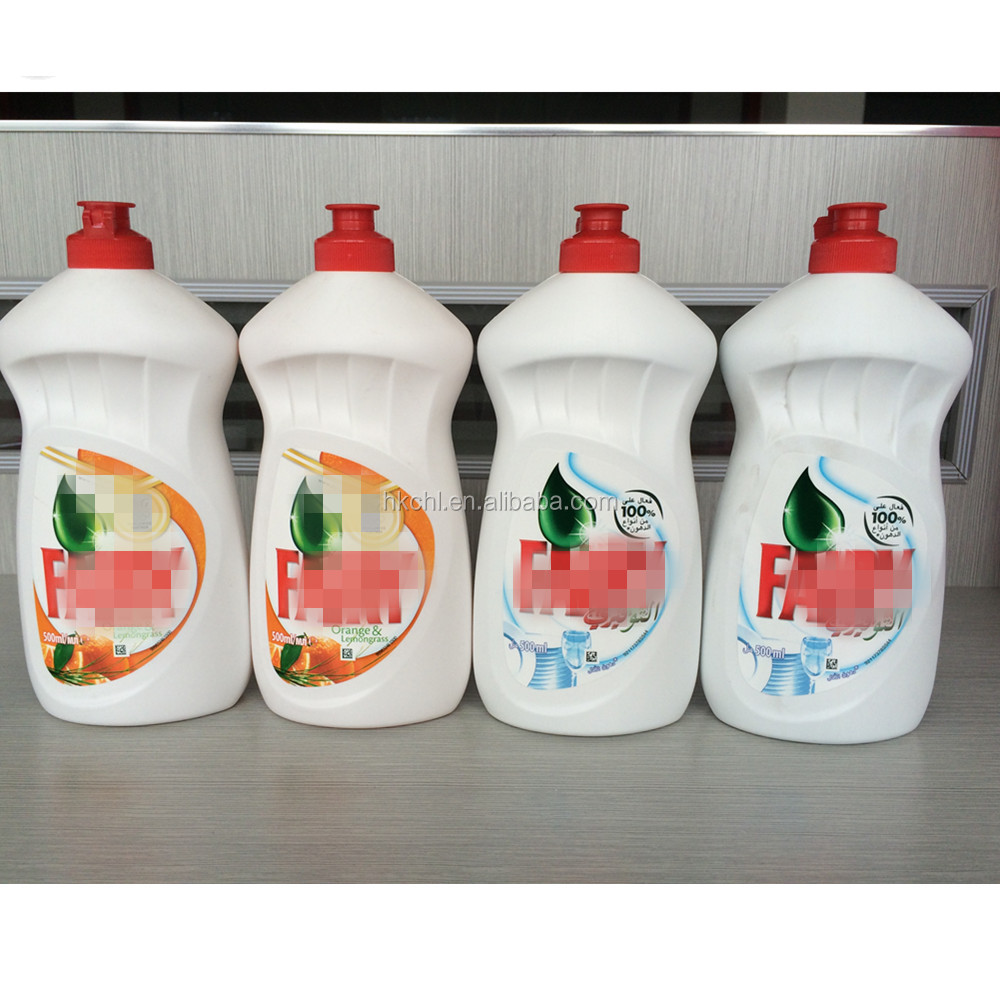 Lemon, Apple, Orange Flavor 500ml Fair Quality Dishwashing liquid