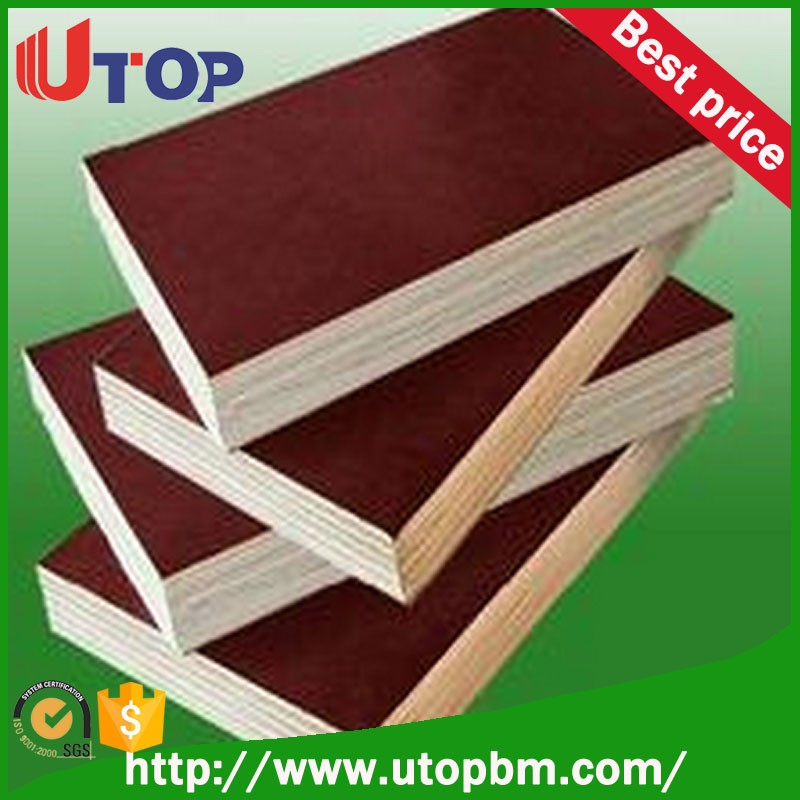 marine plex 18mm brown film faced plywood to UAE