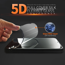 ITOP High Clear Mobile Phone Protector Film 5D Screen Protector cover for Iphone X