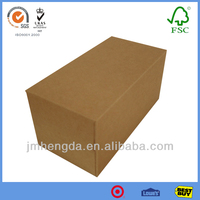 Kraft Paper Tissue Packing Brown Paper Box For Packaging