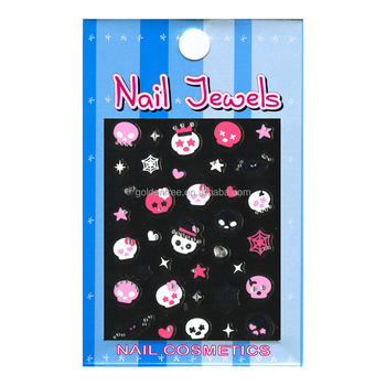 Punk Style Gem Nail Stickers (ND-1209)