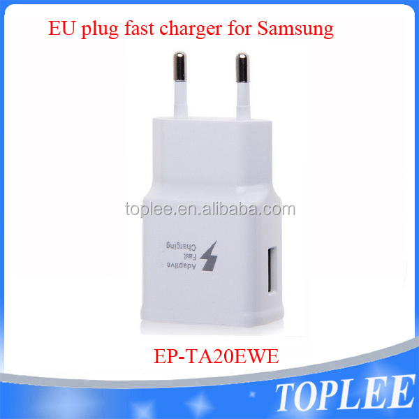 Cell Phone USB Home Wall EU Plug Adapter 5V 2A EP-TA20EWE Fast Charging Travel Charger for Samsung