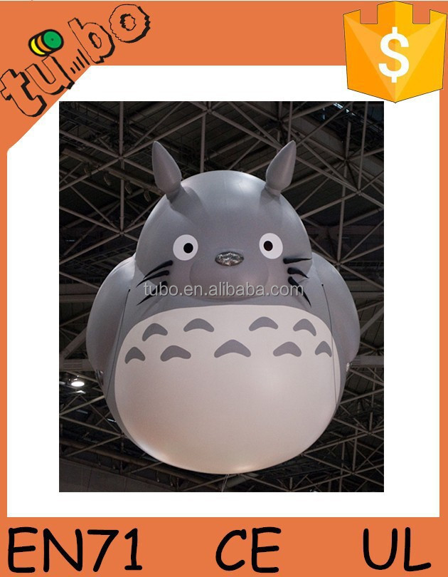 High Quality Giant Attractive Inflatable Totoro Emulational Inflatable Cartoon Model