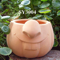 Hot flower pot rabbit animal planter pot
