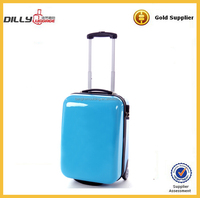 abs and pc trolley case/trolley bag/abs spinner luggage