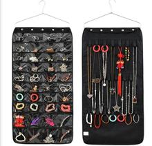 Wall multifunctional Jewelry Holder Non Woven hanging Jewelry organizer