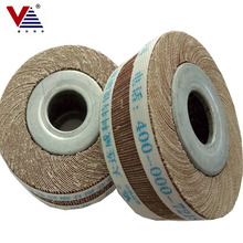 80*25mm polishing flap wheel non woven flap wheel for wood/metal grit <strong>120</strong>