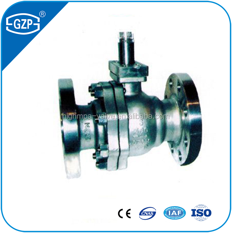 China good sales 6inch hydraulic motor driving ball valve