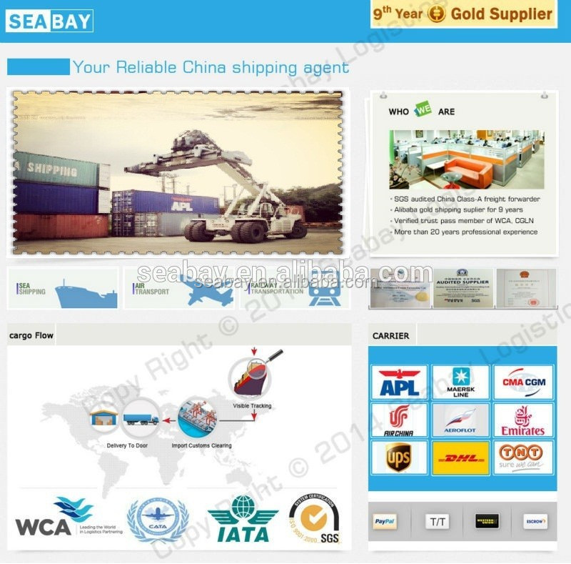 Reliable Sea cargo/Ocean Cargo shipping Company from Shenzhen to Bremen Gernmany