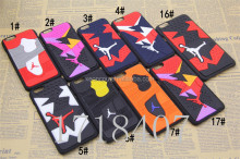 100 pcs/lot Phone Cases For Iphone 6/6s 3D Jordan Rubber & PVC Sneaker Soles Sport Phone Case Cover For Apple iPhone 5s 6 6 plus