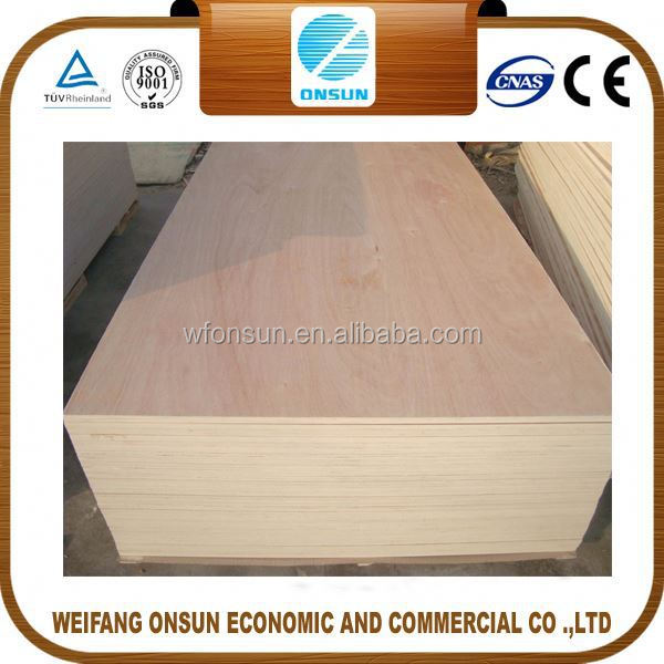 the cheapest high quality furniture made 12mm pencil cedar veneer plywood from China factory