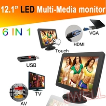12 inch tft touch screen lcd monitor touch screen hdmi open frame