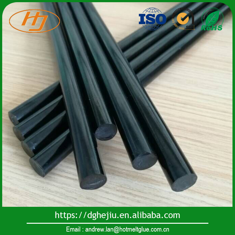 Dongguan black woodworking hot melt adhesive glue sticks for wood furniture Glue & Adhesive and Plywood glue