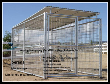 galvanized steel large dog kennels for sale (Popular in Australia)