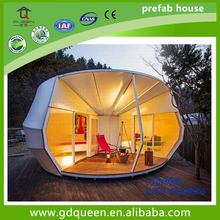 China Pop Waterproof pvc membrane structure tourism houses