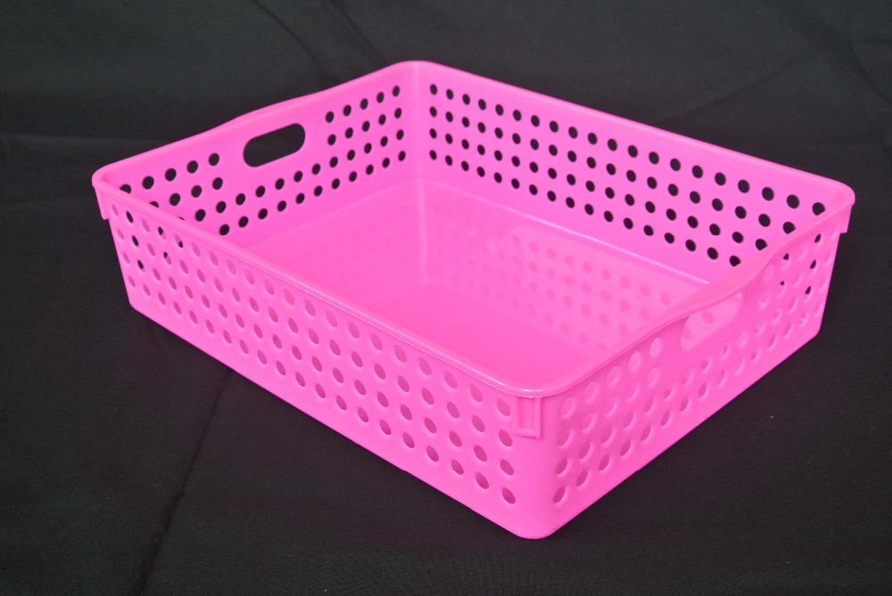 Factory Directly Provide PP Plastic Laundry Basket With Cover