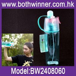 China 2016 new products misting spray water bottle ,h0txe spray sports water bottle carrier