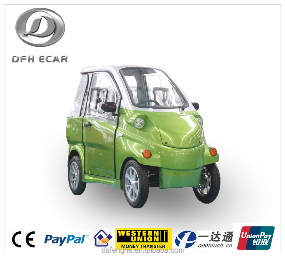 CE approved Chinese 2 Seats mini electric car