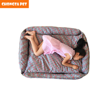 china pet suppiler cheap wholesale dog bed removable cover large size