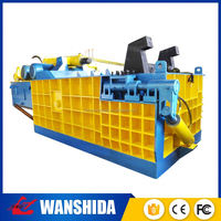 CE certificated automatic horizontal pet bottles plastic baler machine