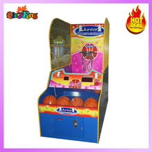 ML-QF521-Little Basketball-Coin operated children cyclone redemption game machine