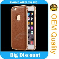 china wholesale for iphone 4 leather case with holder for stylus