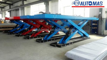 Scissor car lifts types/used Scissor car lifts types/scissor hoists manufacture in China