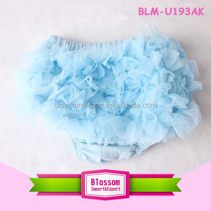 Baby girl cotton ruffle bloomers infant Diaper Cover Toddler Cute ruffle bloomer