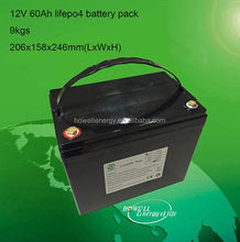 electric rickshaw 12V 60Ah battery Gel Deep Cycle battery 12v for motorcycle/tricycle/rickshaw/car battery