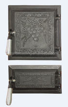 China factory direct hot selling cast iron stove door
