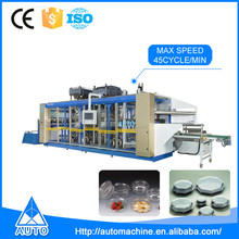 PLA/PS/PET Container Thermoforming Machine