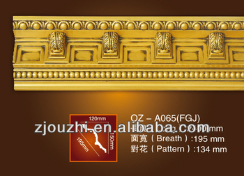 Polyurethane Moulding Wall Decoration Material