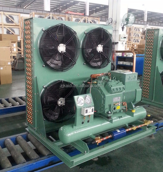 Kaideli 15HP air cooled condensing unit with bitzer compressor for high temperature cold room
