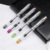 Fashion Transparent high Quality Plastic Fountain Pen With Colorful For School Students