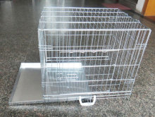 Strong Wire Folding Iron Cage For Dogs Animal Cage