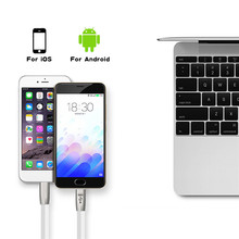 100% Guarantee good quality Data USB Cord 2.0 Charger mfi certified USB Cable for iPhone and Adroid
