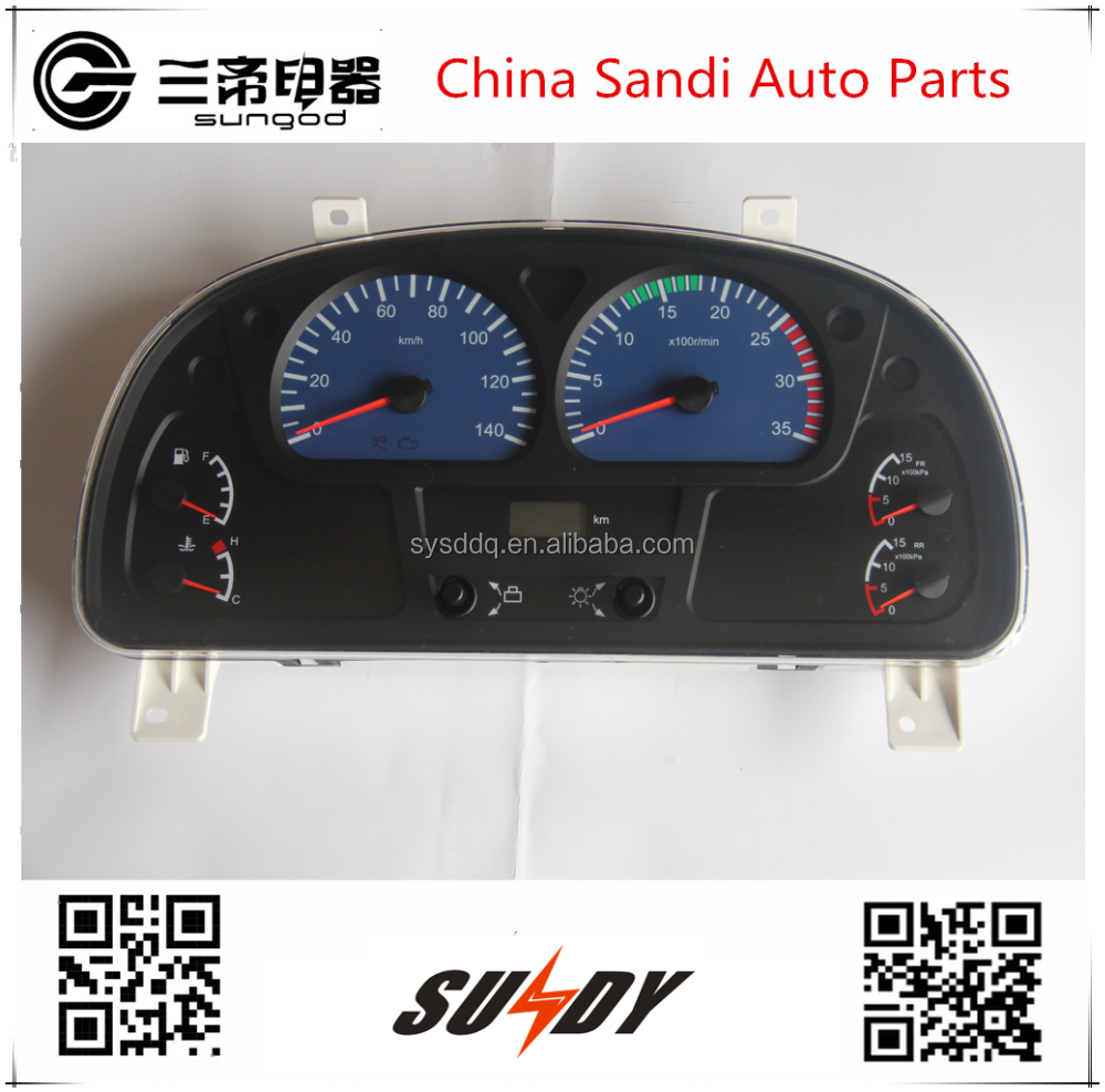 European II Instrument Cluster 3801010-C1100 for Dongfeng trucks Kinland kinrun seires