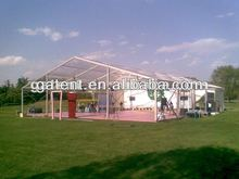 Luxury wedding marquee tent, transparent wedding tent
