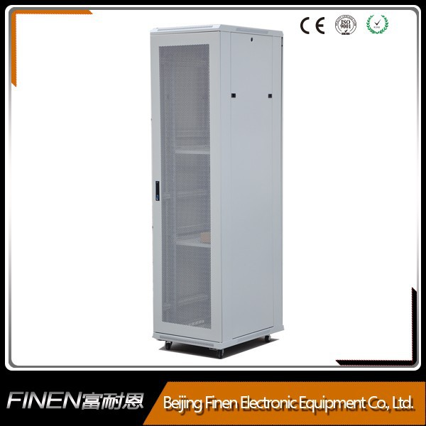 Width 600mm Floor standing 19'' network cabinet outdoor enclosures for electronics
